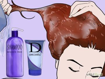 Tips to help keep red hair dye from fading.