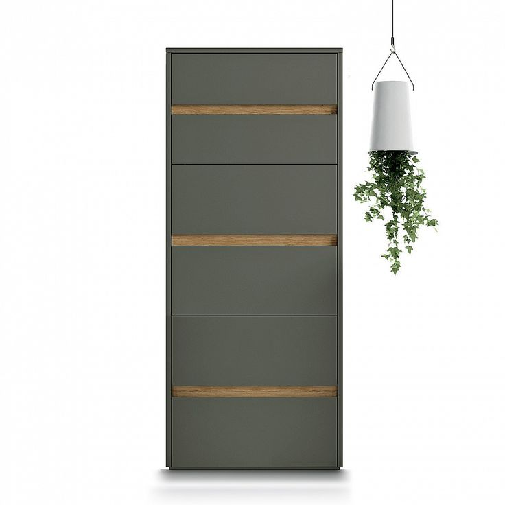 Modern design tall chest of drawers 'Zip' by Dall'Agnese