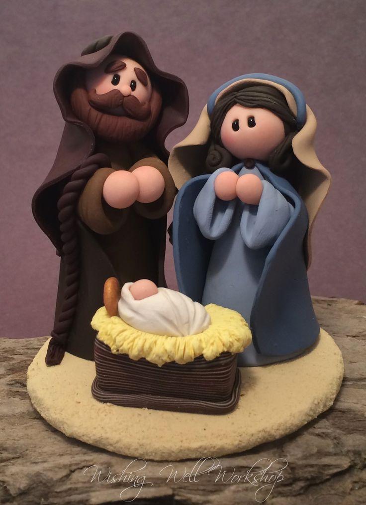 Polymer Clay Nativity-Wishing Well Workshop