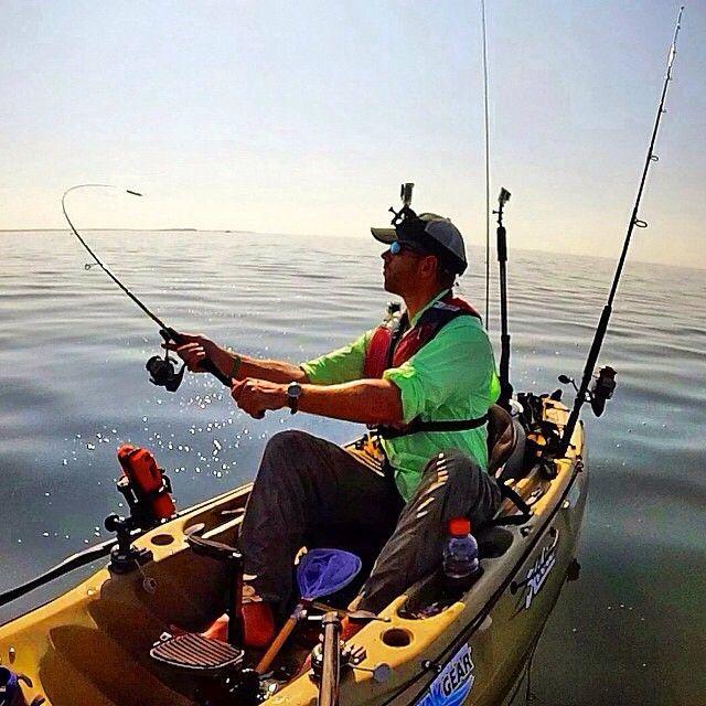 In case you missed it kayak fishing big sharks offshore for Offshore kayak fishing