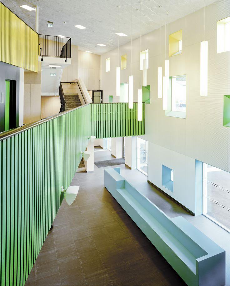Image 5 of 17 from gallery of Kollaskolan School / Kjellgren Kaminsky Architecture. Photograph by Mikael Olsson