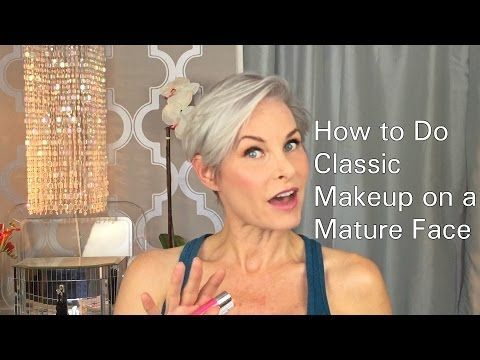 How She Does Classic Makeup On A Mature Face... - DIY Joy