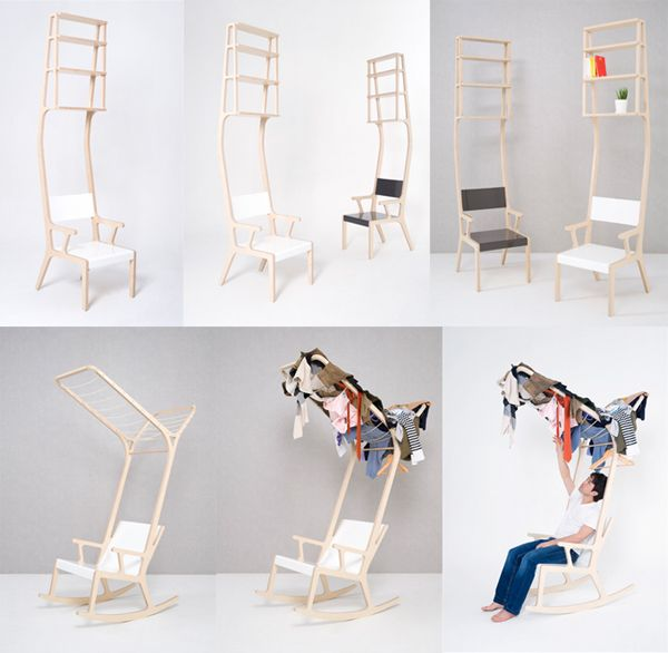 SY designObject A B, Functional Chairs, Furniture Object, Chairs Racks B, Products Design, Sub Studios Design, Multifunctional Design, Design Blog, Crazy Design