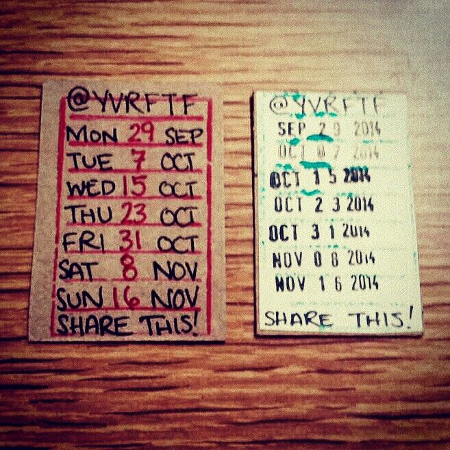 Trading in hand cramps for librarian chic! Keep an eye out for these schedules around #Vancouver next month! #yvrftf #yvr #diy ✂