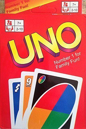 Premium Quality Original UNO Card Game Kids Toy Game 108 Cards Hobbies Poker New #KitaKaze