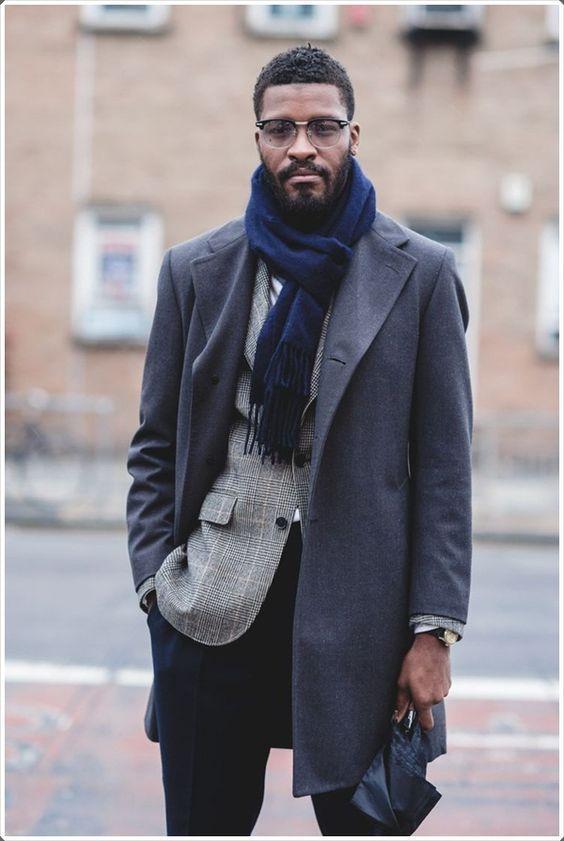 Parisan style to tie your scarf - Men's Fashion Blog - TheUnstitchd.com
