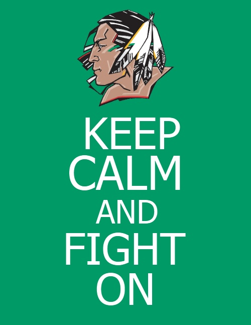 Sioux FOREVER! They can change our name on paper but that's about it.