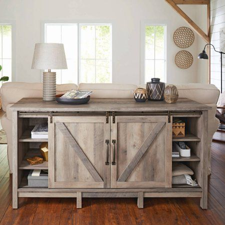 Best 25 rustic entertainment centers ideas on pinterest - Better homes and gardens modern farmhouse ...