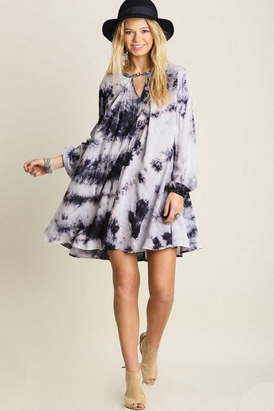 Discover Our Tie Dye Swing Dress And Explore Huge Selection Of Trendy Dresses With New
