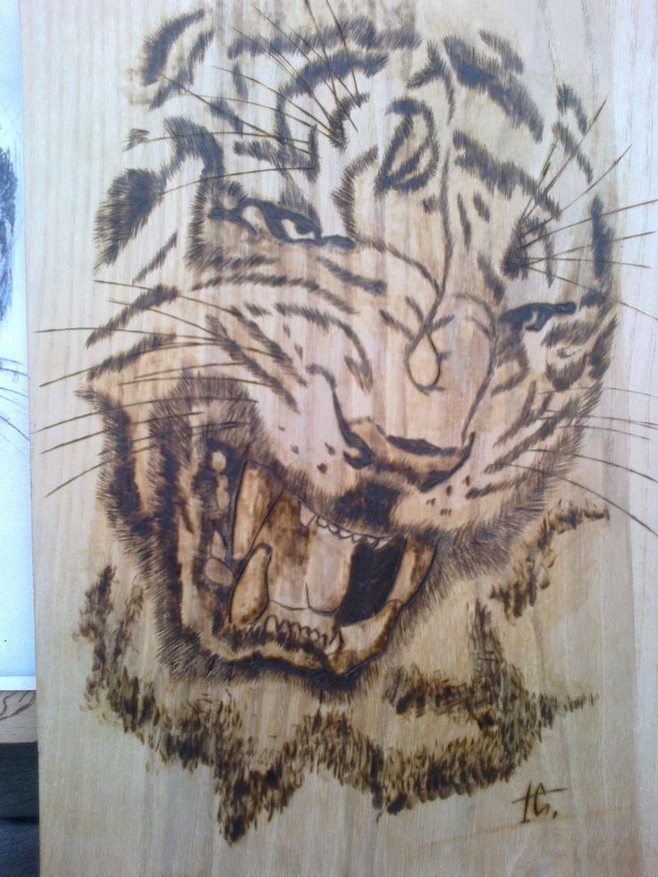 Tiger PyroArt