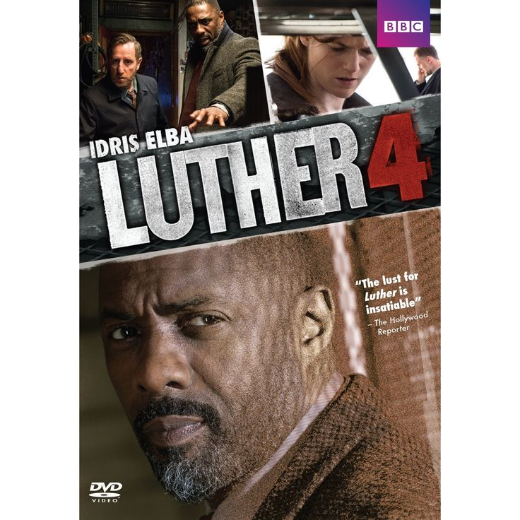 Luther:Series 4 (Dvd), Movies