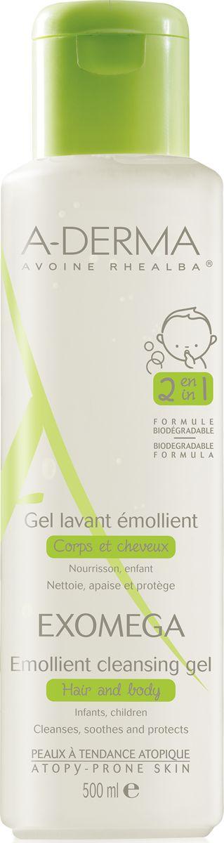 A-Derma Exomega Emollient Cleansing Gel. Καθημερινή Υγιεινή Για Το Ατοπικό Πολύ Ξηρό Δέρμα & Τα Μαλλιά Για βρέφη & Παιδιά 500ml. Μάθετε περισσότερα ΕΔΩ: https://www.pharm24.gr/index.php?main_page=product_info&products_id=12893