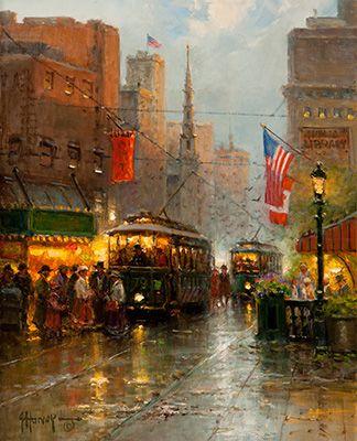 Gerald Harvey Jones ~ Art. Boston