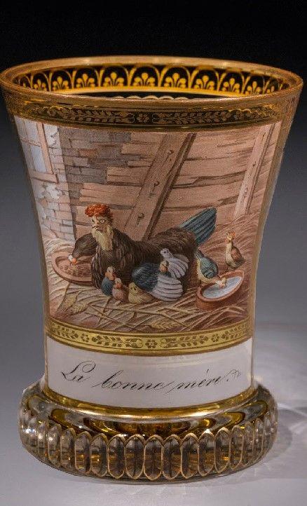 Ranftbecher – La Bonne Mère Autor: Anton Kothgasser (Austrian, 1769-1851) Datum: c.1824, c.1824
