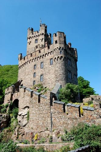 Burg Sooneck near Niederheimbach, Germany by Rene68