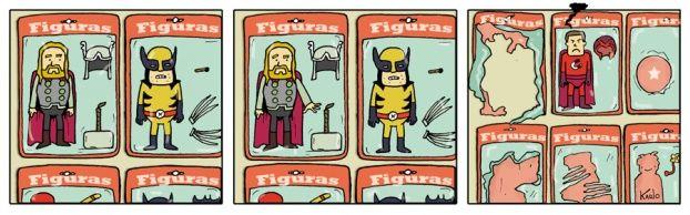 HumorArte - Figuras de acción - ¡Las figuras de acción cobran vida!
