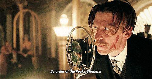 Peaky Blinders GIF Arthur Shelby