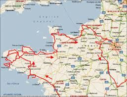 Image result for map of normandy and brittany