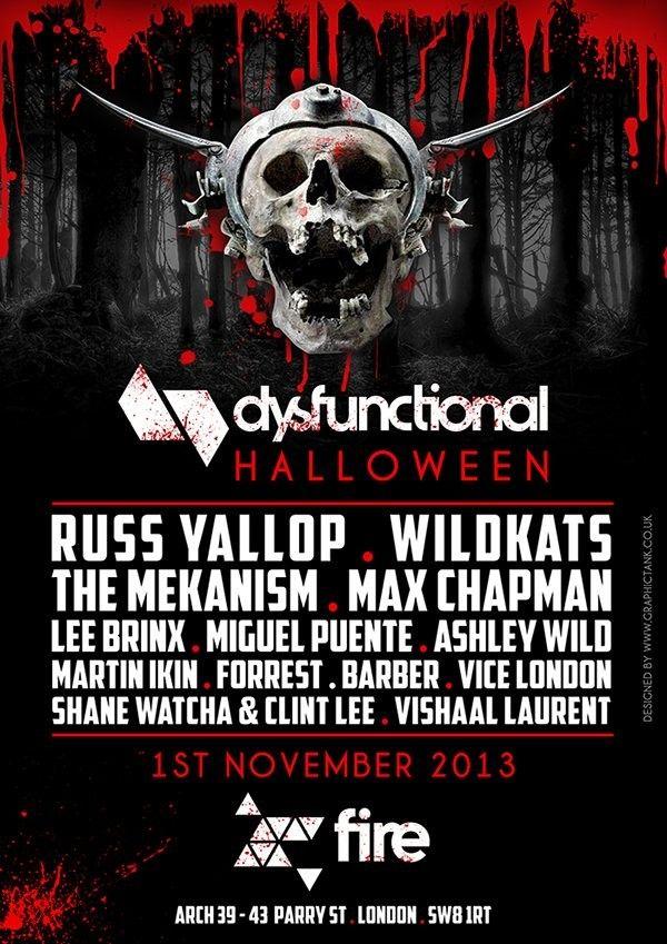 halloween events london tonight