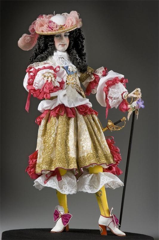 Куклы Джорджа Стюарта: исторические персонажи Франции (мужские образы)