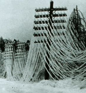 An ice storm hits Canada