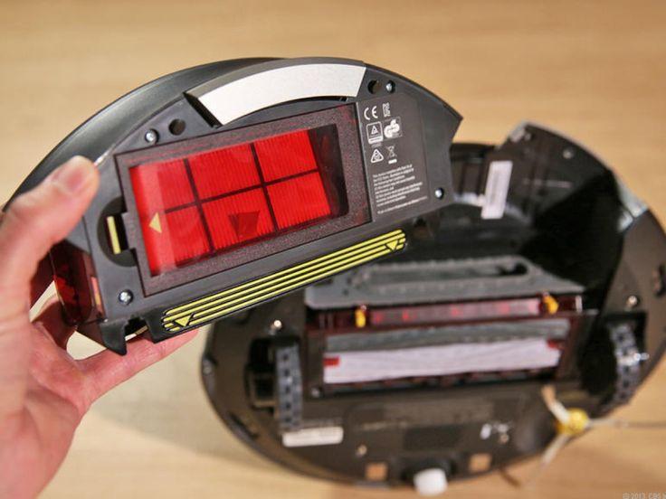 iRobot Roomba 870, HEPA filter tartály.