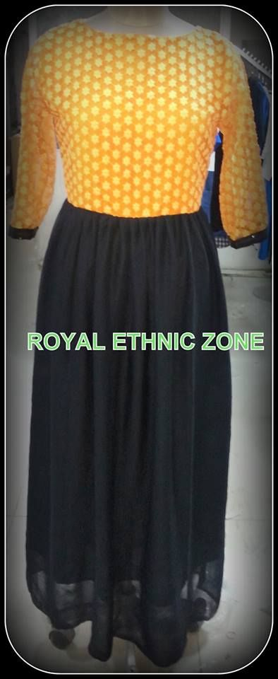 STYLE NO. REZ 220 ELEGANT GOWN PRICE-6000/- FABRIC- GEORGETTE, EMBROIDERD NET
