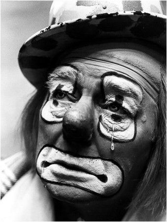Uncle Jack toured with Bunts Circus for many a year, he was an old school auguste clown
