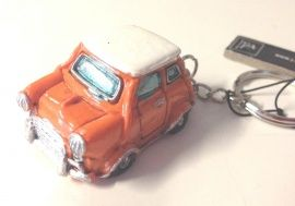 sleutelhanger mini oranje