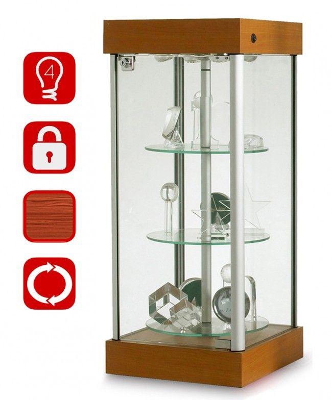 Gentil WREV 01 Rotating Counter Top Display Cabinet