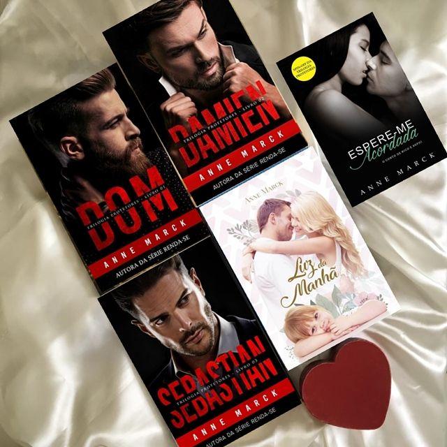 Divertindo Me Com Anne Marck Serie Protetores Livros De
