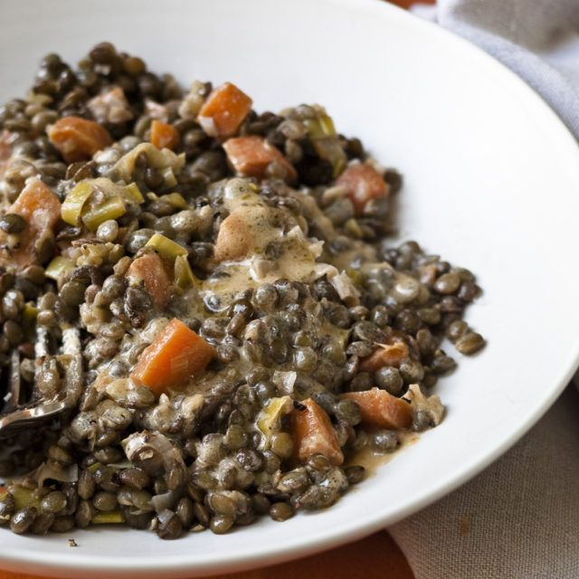 Warm French Lentils | Recipes | Barefoot Contessa   Ever try this?  #trends :)