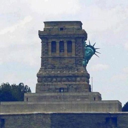 Statue of Liberty prepares for Hurricane Sandy