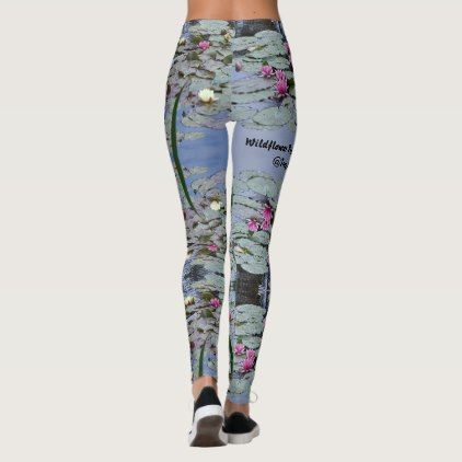 Wildflower Preservation Lilly Pond Ladies Leggings  $63.30  by FundarosaFineries  - custom gift idea