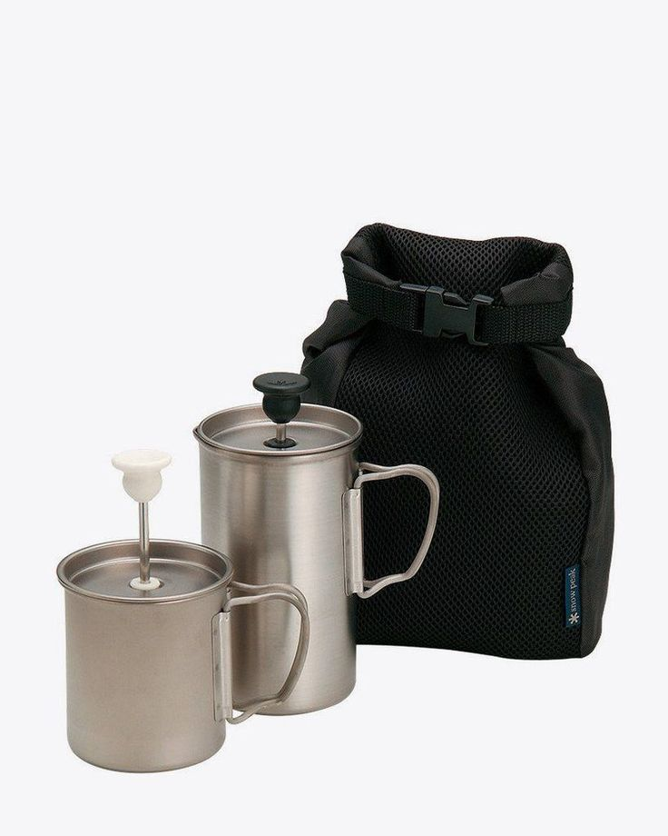 Snow Peak Titanium Café Latte Set