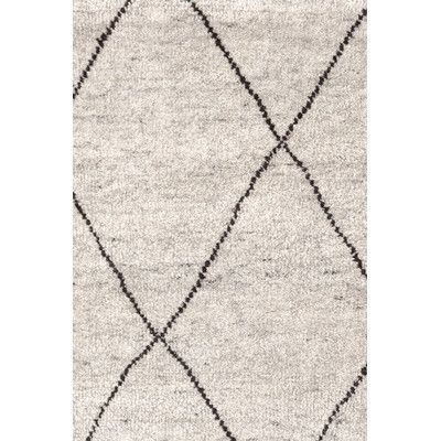 $1094 Dash and Albert Rugs Hand-Knotted Gray Area Rug