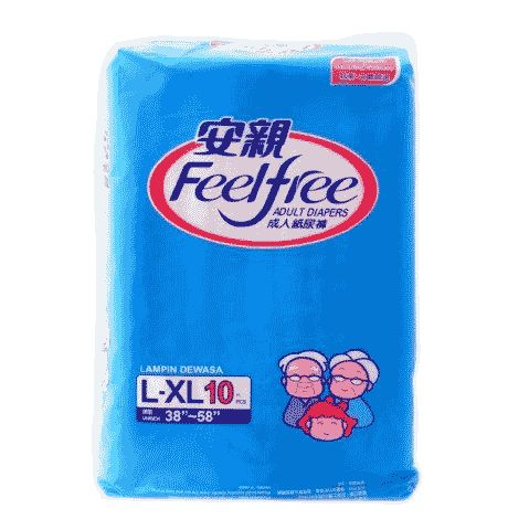 feel free adult diapers large pouch