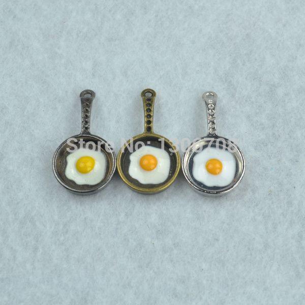 Aliexpress.com: Comprar Diy accesorios de la joyería 18 unids/lote metal 3 colores charms cacerola colgante que hacía collar Z42325 de collar de la cámara fiable proveedores en  J&c store