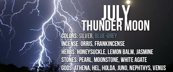 Thunder Moon in Capricorn - July 1st, 2015