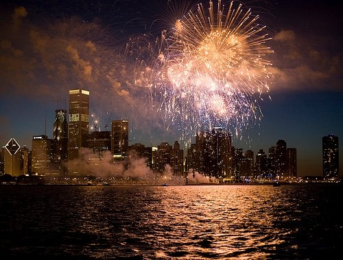 Fireworks on the Seadog Chocago <3 http://entertainmentcruises.com/chicago