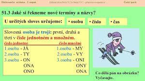 Výsledek obrázku pro časování českých sloves