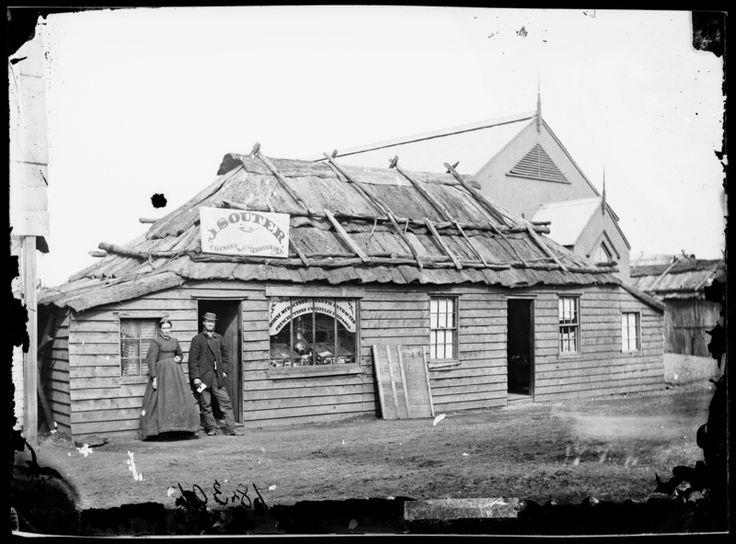 John Souter, chemist, (next to Congregational Church), Gulgong, NSW 1872