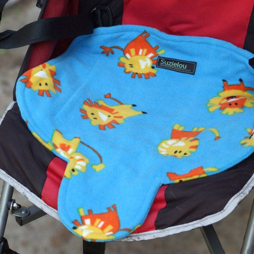 These funky patterned waterproof car seat and buggy protector pads are easy to use by placing them directly into any car seat, buggy or high