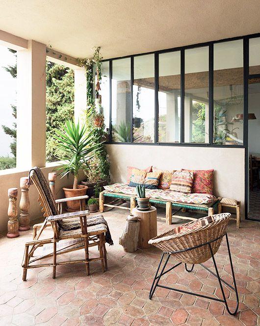 Repurposed bohemian treasure sfgirlbybay outdoor for Como decorar mi patio