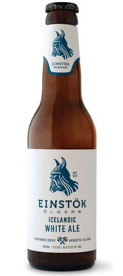Einstok Icelandic White Ale (Witbier) Pours cloudy yellow, single finger white head. Aroma of wheat, bananas....Floral on the taste, rose petals, wheat, bananas, grass, grain, imagine palma violets...Lovely!