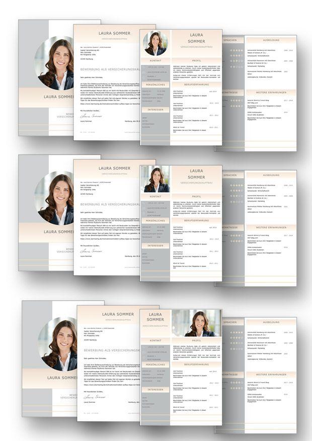 Bewerbungsvorlage Cv Golden Candidate In Deutsch Download Cv