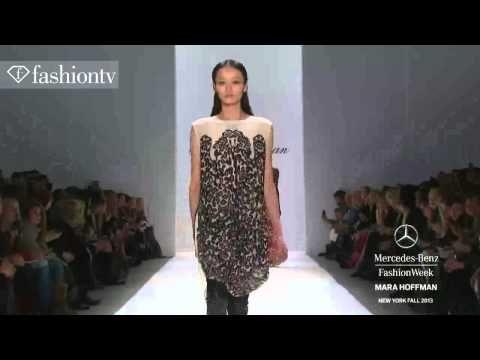 Mara Hoffman Fall/Winter 2013-14 Woman Fashion Show