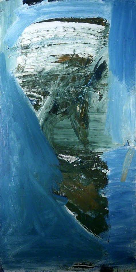 Peter Lanton: Ilfracombe  (I hadn't come across this Lanyon before seeing it on the great Your Paintings website).