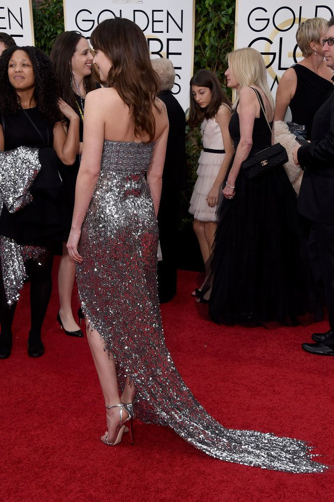 Even More Breathtaking: Your Favorite Golden Globes Dresses From Behind: If there's one thing us fashion girls know, it's that you never judge a dress without seeing it from all angles first.