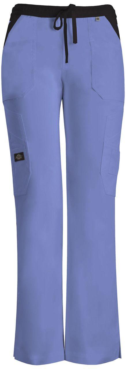 Dickies Medical 82120 Pantalon Tipo Cargo con Jareta y 12 Bolsillos para Mujer - BODEGA DE UNIFORMES: DICKIES| CHEROKEE| GREY'S ANATOMY| HEARTSOUL| CODE HAPPY|IGUANAMED| SLOGGERS